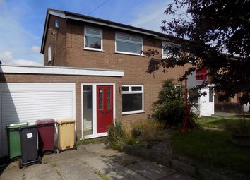 Thumbnail 3 bedroom semi-detached house for sale in Westbank Road, Lostock, Bolton