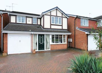 Thumbnail 4 bed detached house for sale in Knightsbridge Way, Stretton, Burton-On-Trent