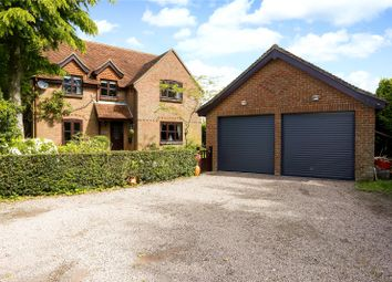 Thumbnail 4 bed detached house for sale in Main Road, Owslebury, Winchester, Hampshire