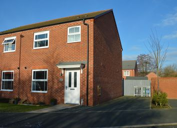 Thumbnail 3 bed semi-detached house for sale in Stall Meadow, Wem, Shrewsbury