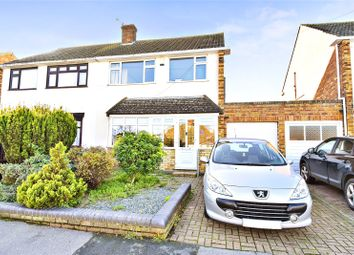 Thumbnail 3 bed semi-detached house for sale in Harold Road, Hawley, Kent