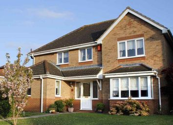 Thumbnail 5 bed detached house for sale in Holkham Close, Rushmere St. Andrew, Ipswich