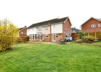Thumbnail 4 bed semi-detached house for sale in Kentchurch Close, Hereford