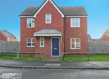 Thumbnail 3 bed detached house for sale in Atlantic Crescent, Thornaby, Stockton-On-Tees, North Yorkshire