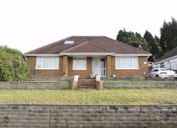 Thumbnail 3 bed detached bungalow for sale in Mansel Road, Bonymaen, Swansea