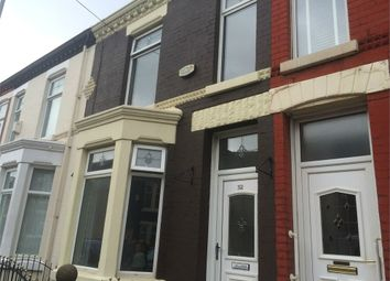 Thumbnail 3 bed terraced house to rent in Cambridge Road, Bootle, Merseyside