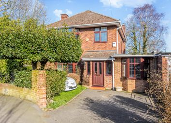 Thumbnail 4 bedroom detached house to rent in Aragon Avenue, Thames Ditton