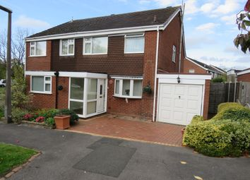 Thumbnail 2 bed semi-detached house for sale in Nugent Grove, Cheswick Green, Solihull