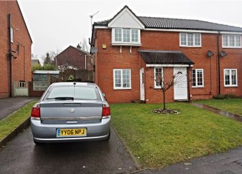 Thumbnail 2 bed town house for sale in Oakdale Road, Alfreton