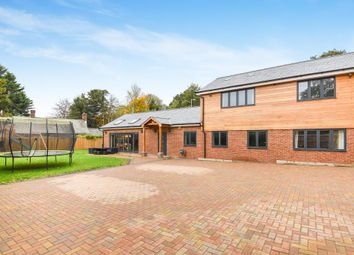 Thumbnail 4 bed detached house for sale in Newbury Road, Headley
