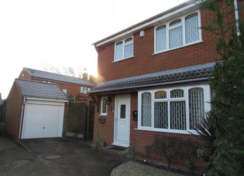 Thumbnail 3 bed detached house for sale in King Richards Hill, Earl Shilton, Leicester