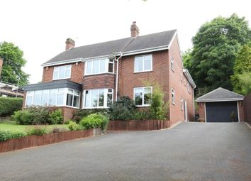 Thumbnail 5 bedroom detached house for sale in Lightwood Road, Lightwood, Longton, Stoke-On-Trent