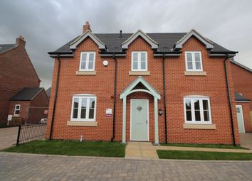 Thumbnail 4 bed detached house for sale in Hanbury Etwall Road, Willington, Derby