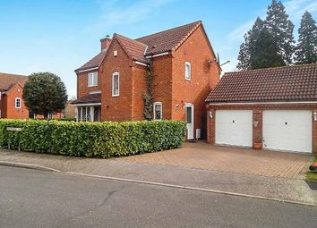 Thumbnail 4 bed detached house for sale in Freemantle Court, Eaton Socon, St. Neots