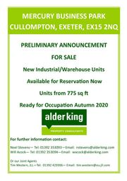 Thumbnail Industrial to let in Clyst Hydon, Cullompton