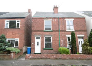 Thumbnail 2 bedroom semi-detached house to rent in Kent Street, Hasland, Chesterfield