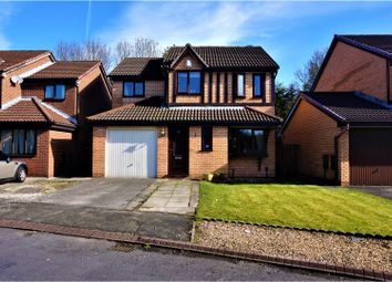 Thumbnail 4 bed detached house for sale in Leighton Drive, Lowton