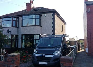 Thumbnail 3 bed semi-detached house for sale in Staining Road, Blackpool, Lancashire