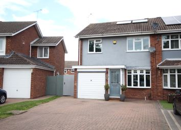 Thumbnail 3 bed semi-detached house for sale in Dunsville Drive, Coventry