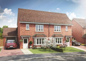 Thumbnail 4 bed semi-detached house for sale in Heatherfields Way, Whitehill, Hampshire