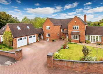 Thumbnail 5 bed detached house for sale in School Fields, Hinstock, Market Drayton