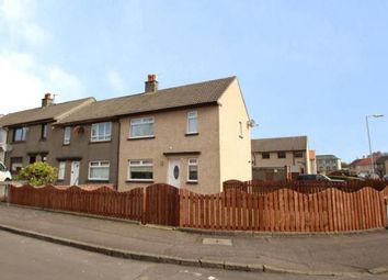 Thumbnail 2 bed end terrace house for sale in Milton Road, Dreghorn, Irvine, North Ayrshire