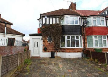 Thumbnail 3 bedroom end terrace house for sale in Brackley Square, Woodford Green, Essex