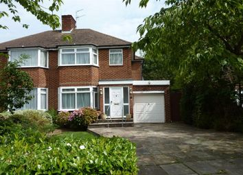 Thumbnail 3 bed semi-detached house for sale in Bullescroft Road, Edgware