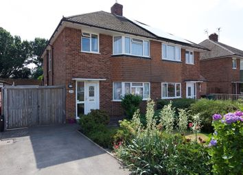 Thumbnail 3 bed semi-detached house to rent in The Meadway, Horley