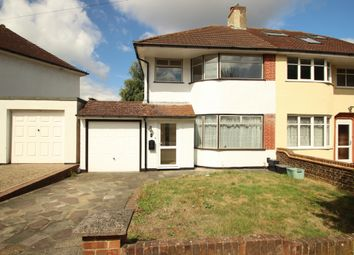 Thumbnail 3 bed semi-detached house to rent in Borkwood Way, Orpington