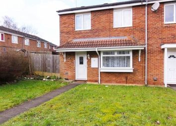 Thumbnail 2 bed terraced house to rent in Faversham Close, Wolverhampton