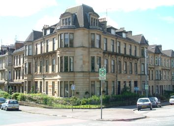 Thumbnail 1 bed flat to rent in Broomhill Terrace, Glasgow