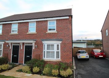 Thumbnail 3 bed semi-detached house for sale in Scholars Place, Worksop
