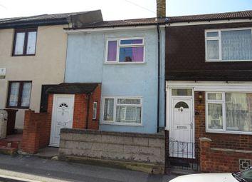 Thumbnail 3 bedroom terraced house for sale in Burnt Oak Terrace, Gillingham, Kent.