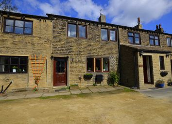 Thumbnail 2 bed terraced house for sale in Sunny Bank, South Crosland, Huddersfield
