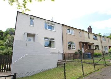 Thumbnail 3 bed end terrace house for sale in Pembroke Road, Greenock, Inverclyde