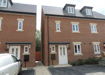 Thumbnail 3 bed semi-detached house to rent in Great Northern Gardens, Bourne, Lincolnshire