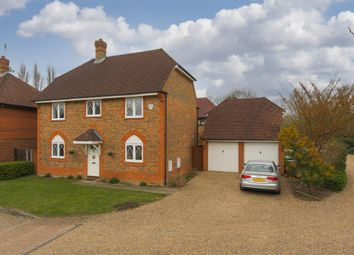 Thumbnail 4 bed detached house for sale in Kestrel Close, Epsom