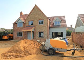 Thumbnail 5 bed detached house for sale in Gormans Lane, Colkirk, Fakenham