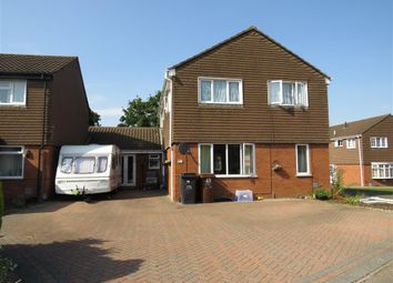Thumbnail 5 bed detached house for sale in Banbury Close, West Hunsbury, Northampton