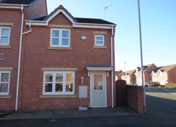 Thumbnail 3 bed end terrace house for sale in Lavender Gardens, Warrington