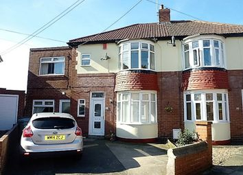 Thumbnail 4 bed semi-detached house for sale in Astley Gardens, Seaton Delaval, Whitley Bay