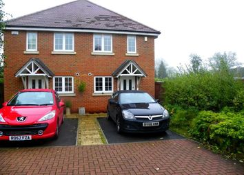 Thumbnail 2 bed semi-detached house to rent in Tanners Row, Wokingham
