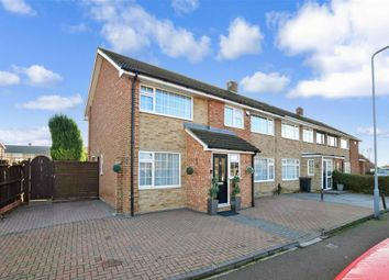 Thumbnail 5 bed end terrace house for sale in Marling Way, Gravesend, Kent