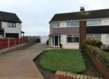 Thumbnail 3 bed semi-detached house for sale in Garborough Close, Crosby, Maryport