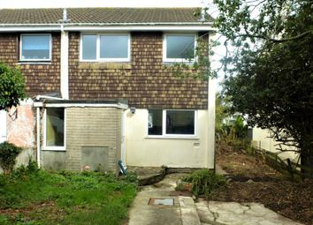 Thumbnail 3 bed end terrace house for sale in Trehane Road, Camborne, Cornwall