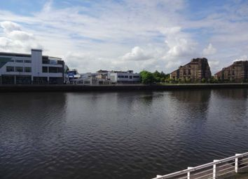 Thumbnail 1 bed flat to rent in Lancefield Quay, Glasgow