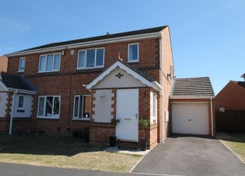 Thumbnail 3 bed semi-detached house for sale in Royal George Drive, Eaglescliffe