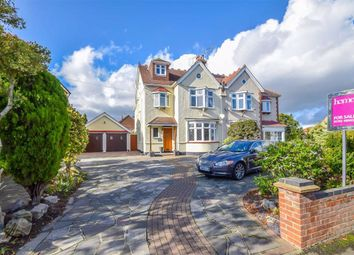Thumbnail 5 bed semi-detached house for sale in Southbourne Grove, Westcliff-On-Sea, Essex