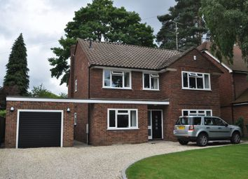 Thumbnail 4 bed detached house to rent in Cedar Road, Farnborough